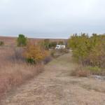 Herbstliche Prairie in Oklahoma