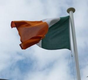 Irlandflagge P1120013