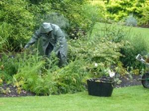 Threave Garden - Keine Statue