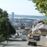 Blick auf Swansea