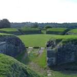 Caerleon - Römische Arena