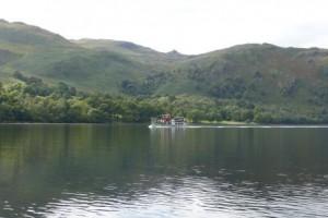 Dampfschiff auf dem Lake Ullswater