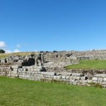 Housesteads Roman Fort am Hadrians Wall