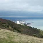 Beachy Head-Blick auf Eastbourne