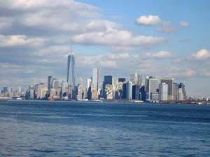 USA-NYC Manhattan Südspitze Schiff