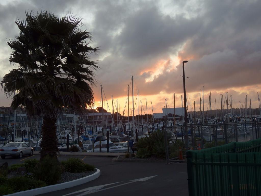 Maritime Parkplatzromantik