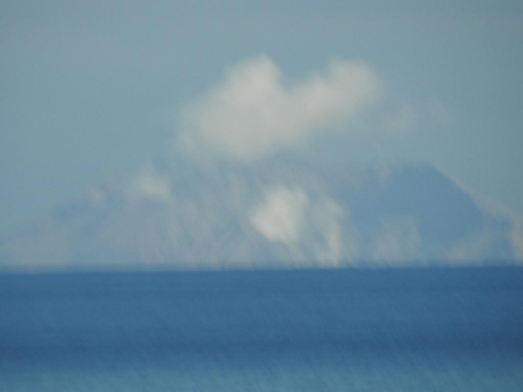 White Island mit aktivem  Vulkan