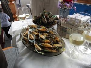 Green Mussels Tasting