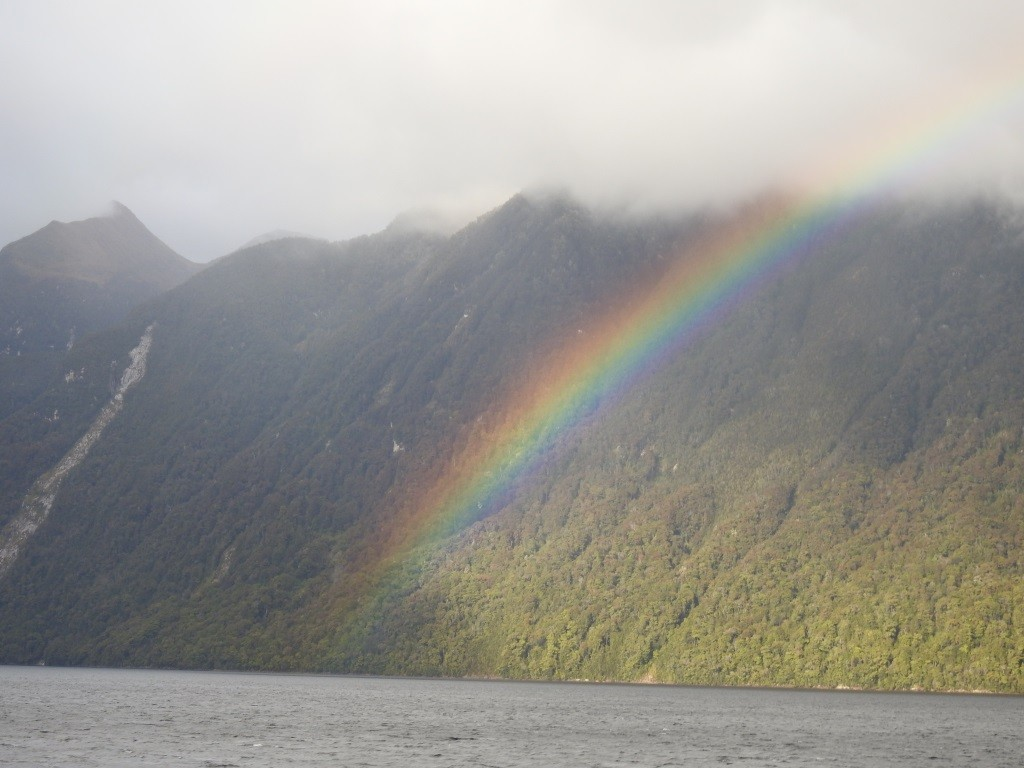 Lake Manapouri-Anfaht auf Doubtful Sound