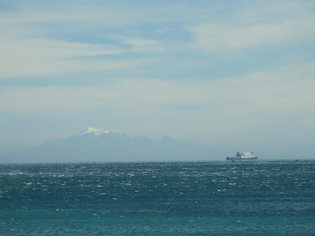 Südinsel am Horizont