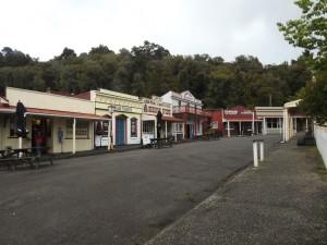 Shanty Town bei Greymouth