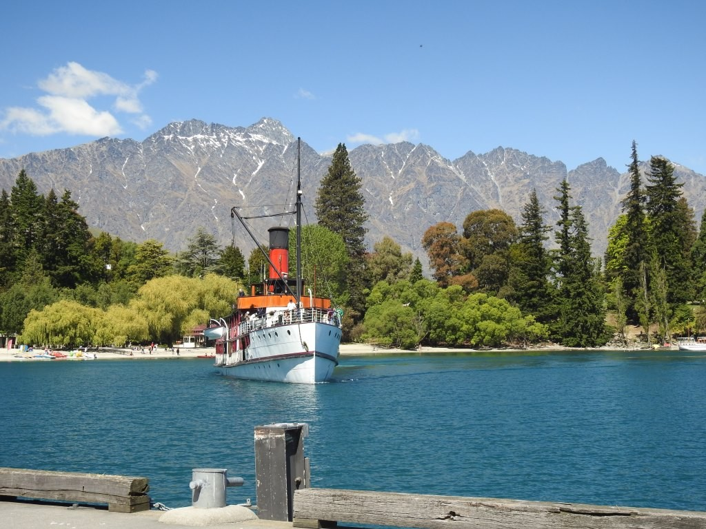 TSS Earnslaw auf dem Lake Wakatipu