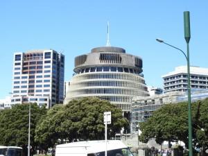 The Beehive-Parelamentsgebäude