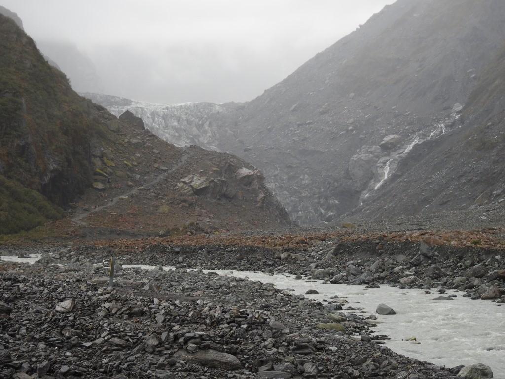 Wanderung zum Fox Gletscher