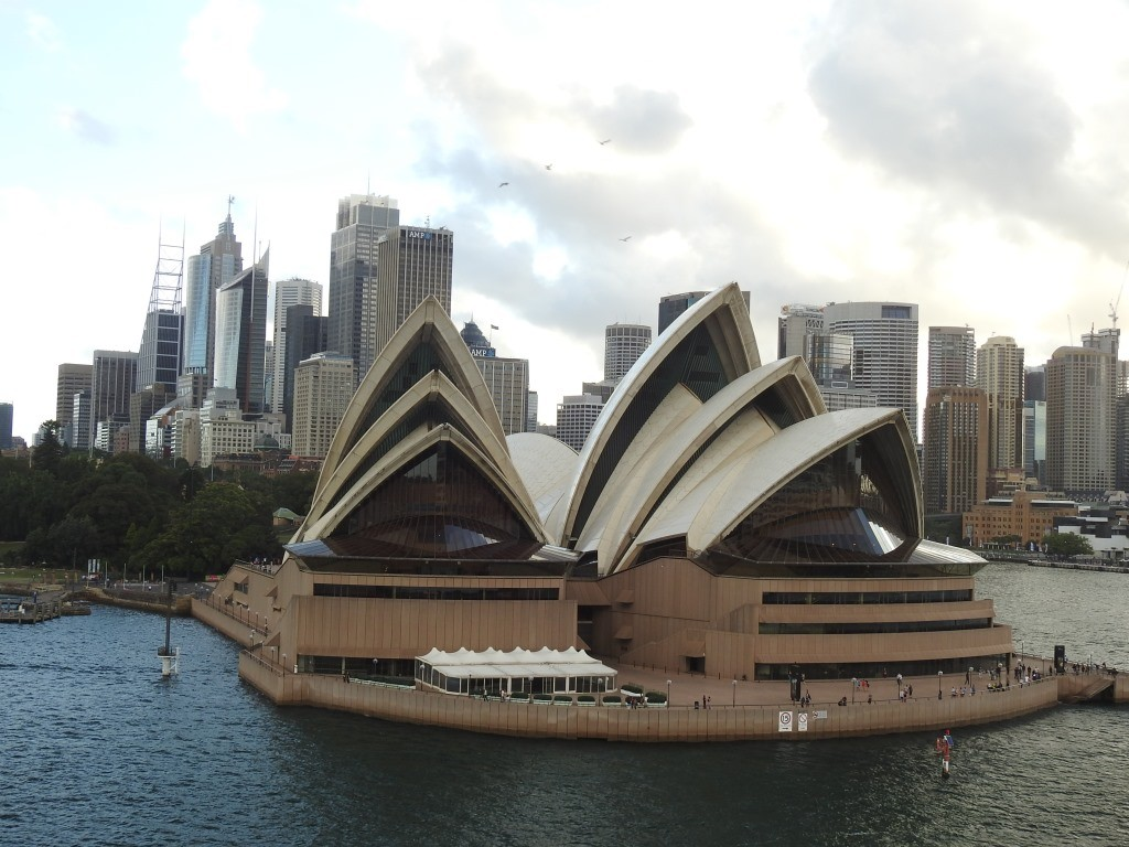 Auslaufen aus Sydney