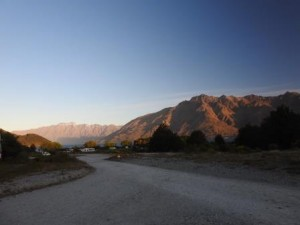Berglandschaft bei Queenstown
