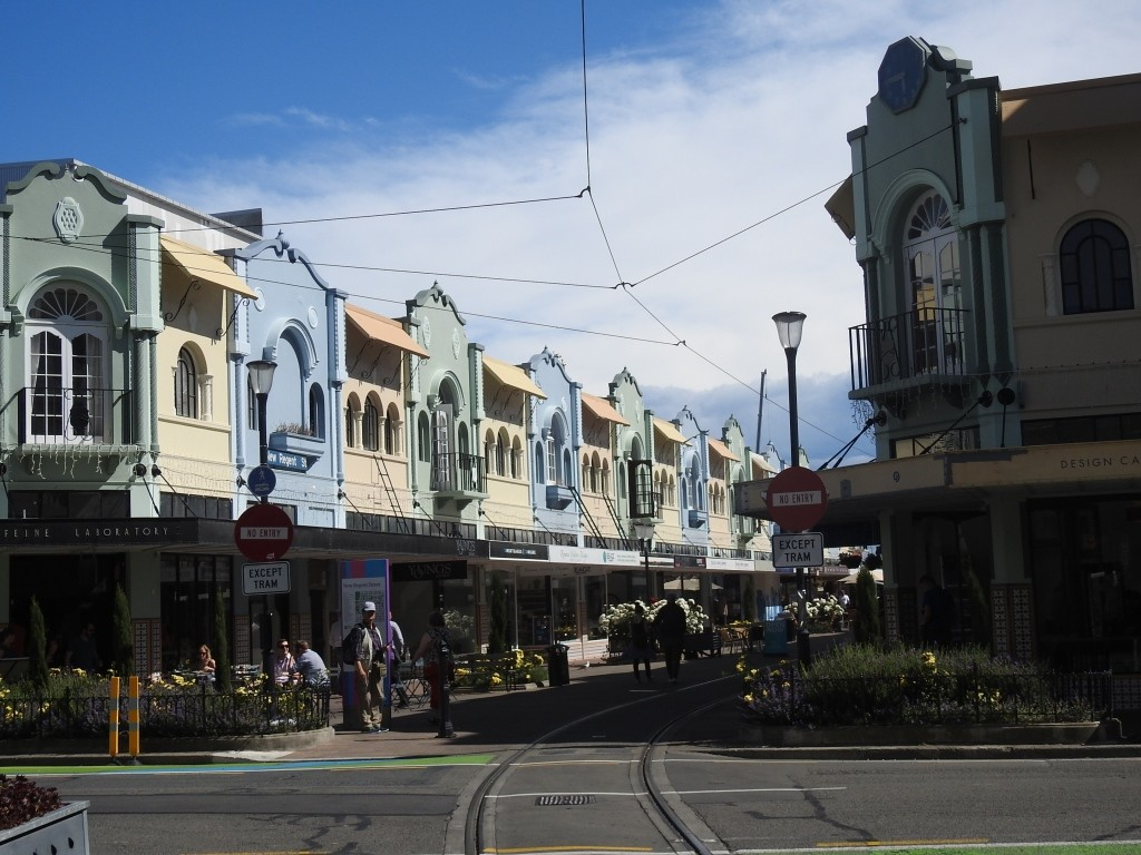 Christchurch-Heile Welt