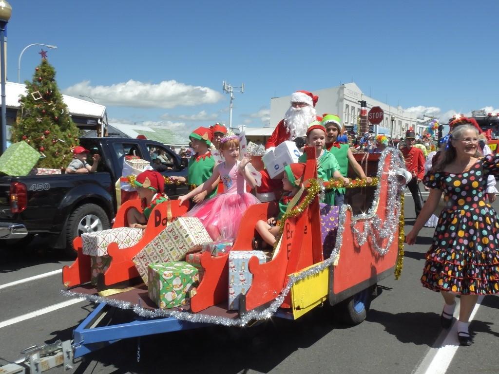 Christmas Parade Te Aroha