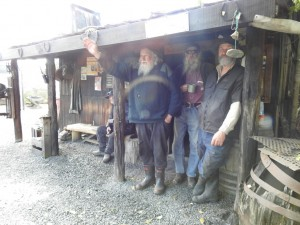 The Bearded Miners-Reefton