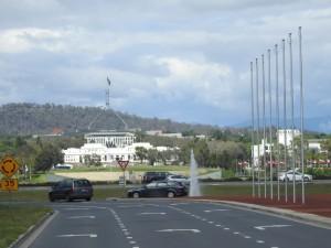 Canberra-Parlamentshügel