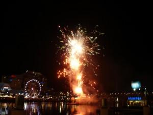 Darling Harbour-Feuerwerk