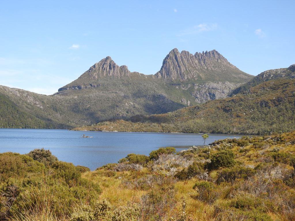 Cradle Mountian mit Lake Dove