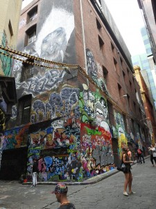 Melbourne-Hosier Lane